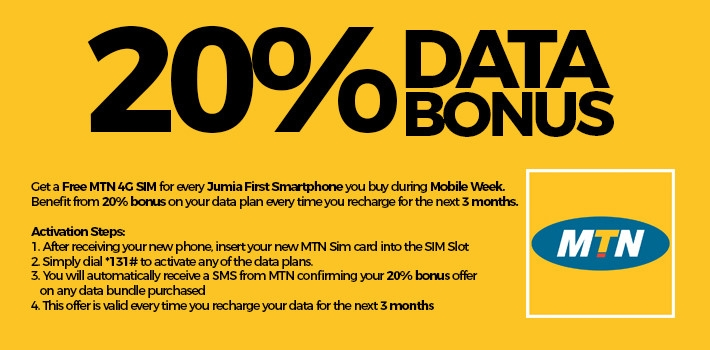 MTN 4G SIM for Jumia MW phones