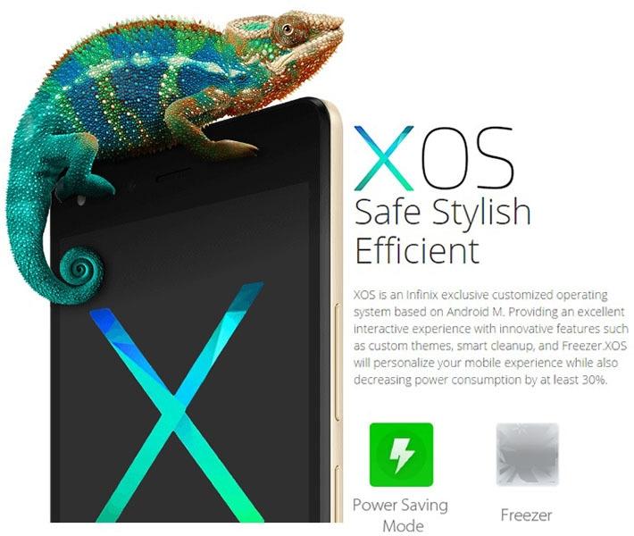 Infinix Hot 4 Pro X556 on Jumia Android XOS based on M