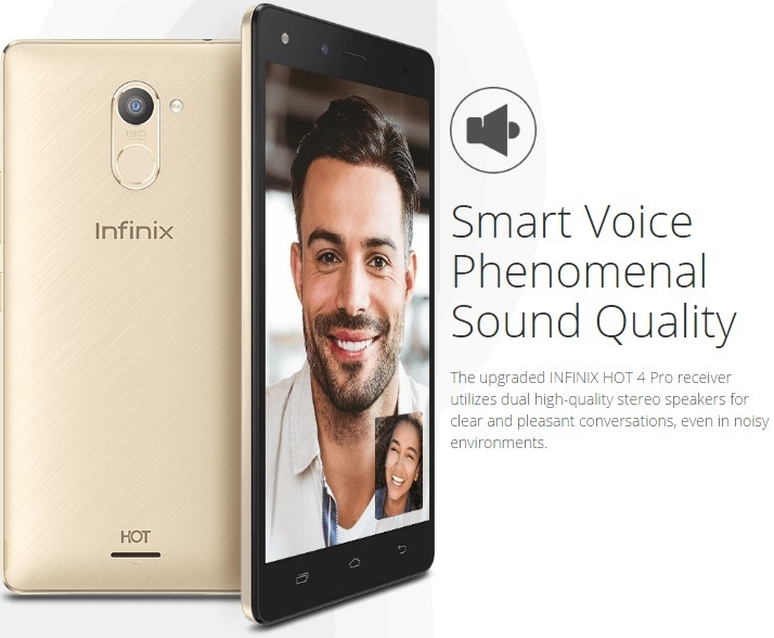 Image result for Infinix Hot 4 Pro X556