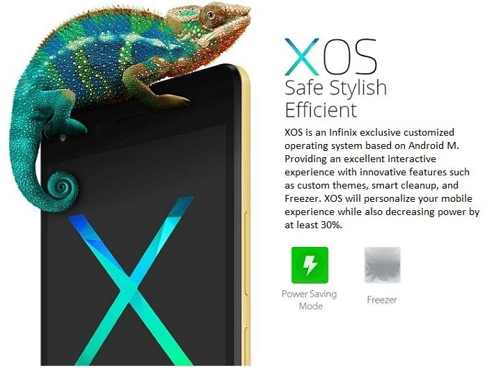 Infinix Hot 4 Lite XOS