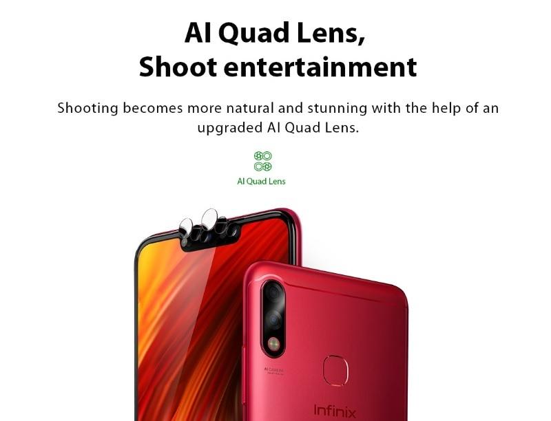quad lens android smartphone