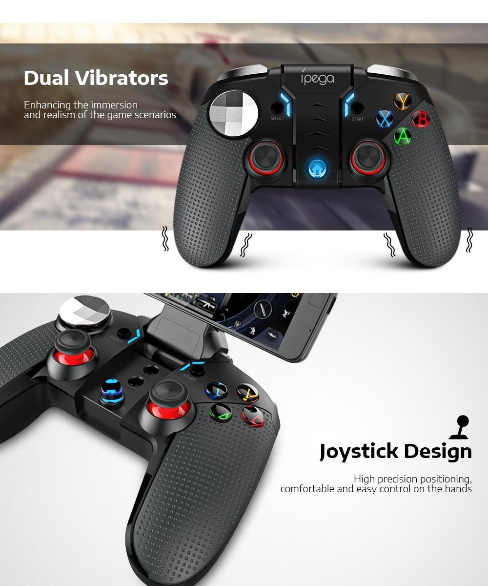 iPEGA PG - 9099 Wireless Bluetooth Gamepad Controller with Telescopic Holder