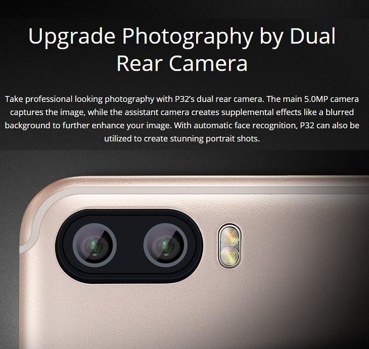 itel p32 android go dual rear camera