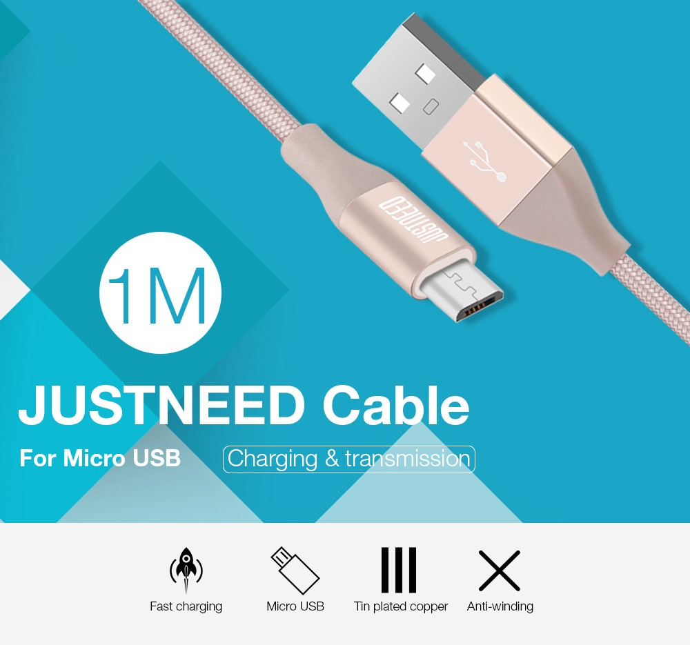 Nigeria | Buy Micro USB 2.4A Charging Data Transmission Sync Cable ...