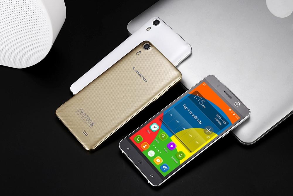 Landvo XM100 Android 5.1 3G Smartphone 5.0 inch Screen MTK6580 Quad Core 1.3GHz 1GB RAM 8GB ROM Dual Cameras GPS FM