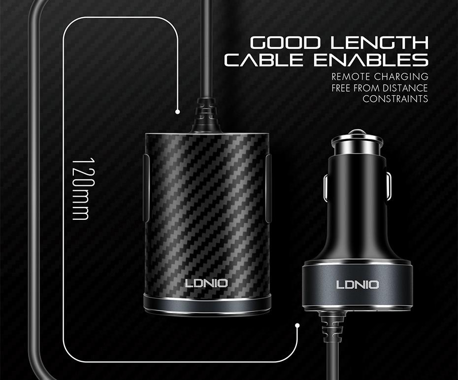 LDNIO C502 car charger  (6)
