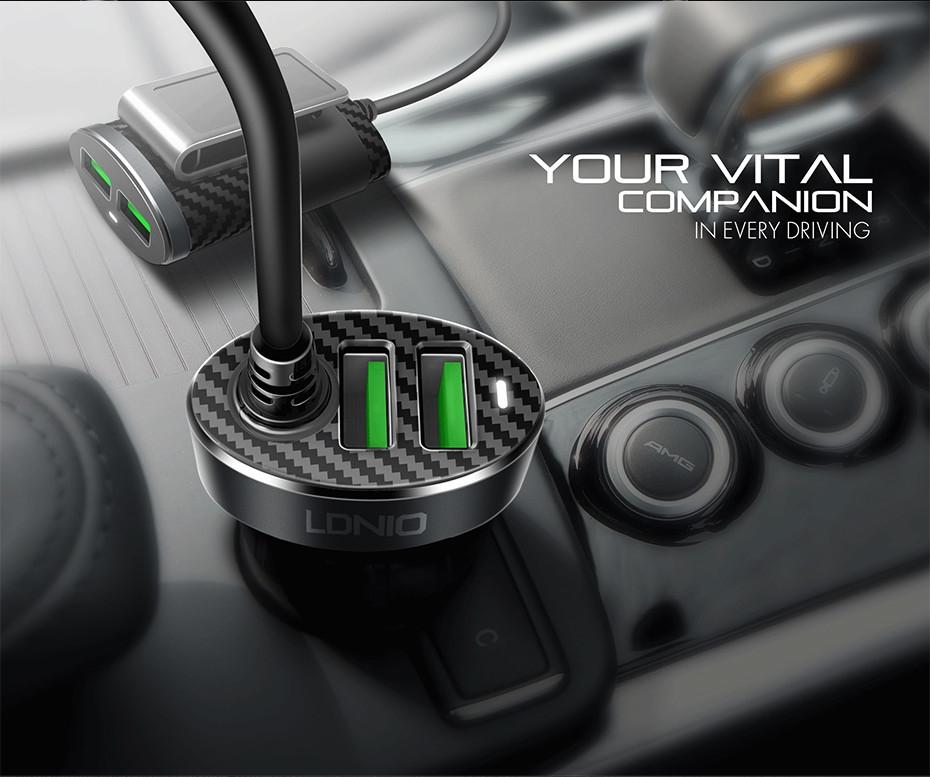 LDNIO C502 car charger  (7)
