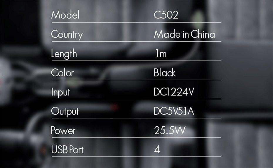 LDNIO C502 car charger  (10)