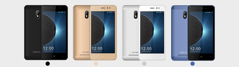 LEAGOO Z6 3G Smartphone 4.97 inch Android 6.0 MTK6580M Quad Core 1.3GHz 1GB RAM 8GB ROM Cameras Smart Wake Function
