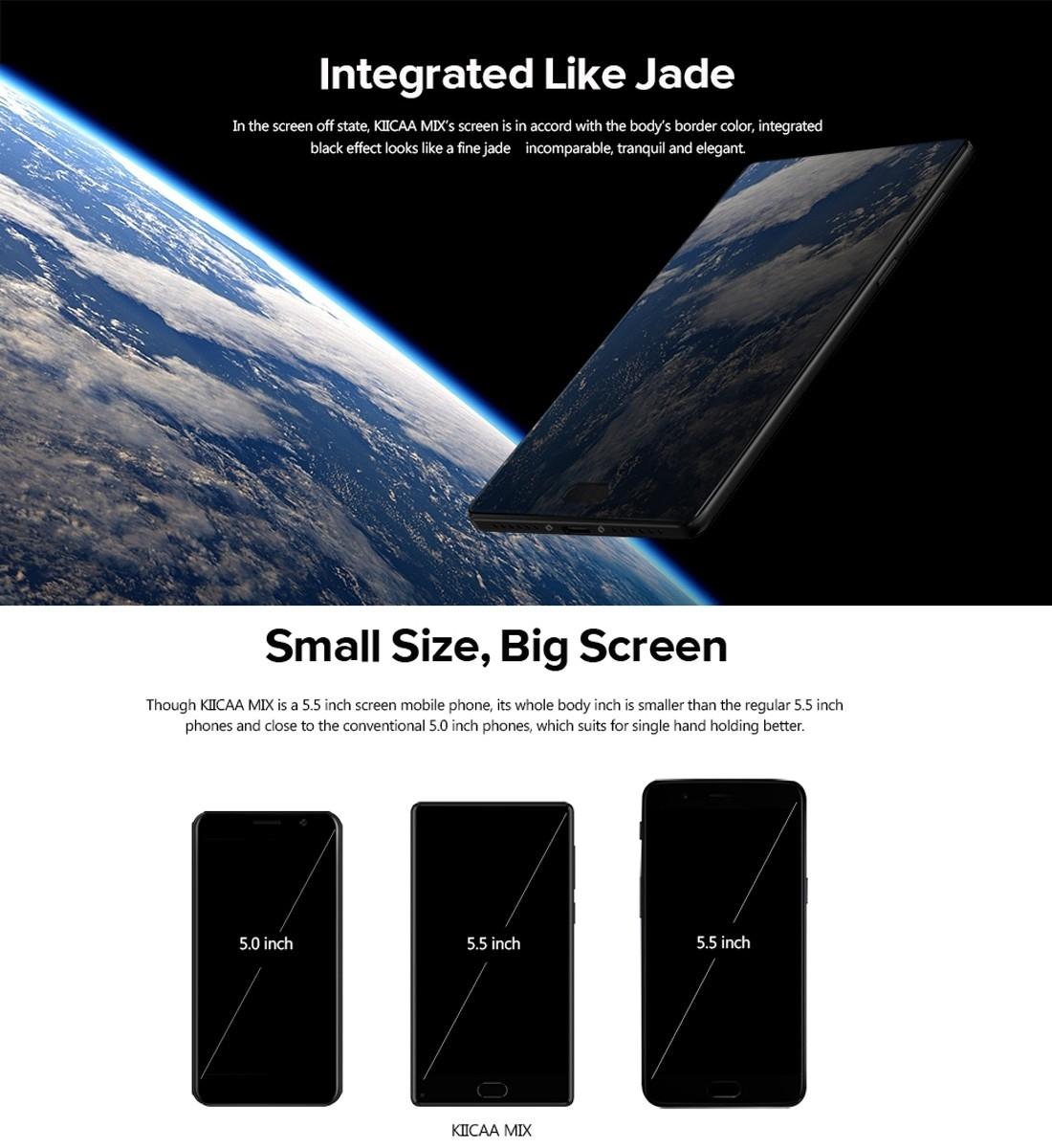 Leagoo KIICAA MIX - 5 5'' - 3GB RAM + 32GB ROM - 13MP + 2MP