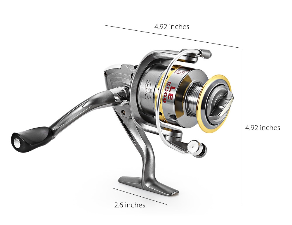 Leo Outdoor Fishing Spinning Rod Reel Kit Set With Fish ...