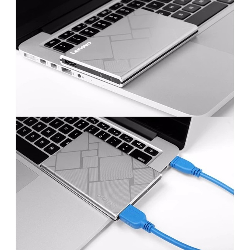 Lenovo F360S Slim Portable 1TB USB 3 0 Mobile External Hard