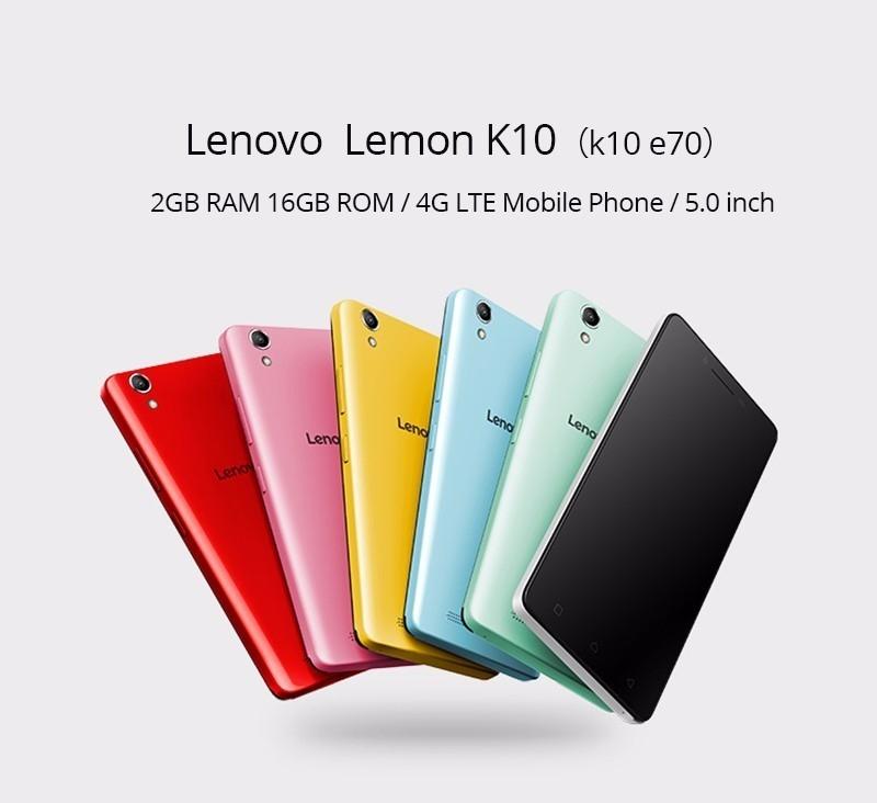 Lenovo K10 K10e70 5.0 inch 2GB RAM 16GB ROM Snapdragon 210 Quad-core 4G Smartphone