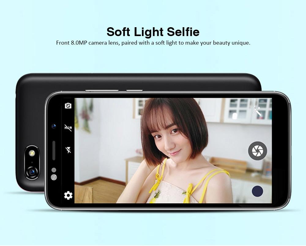 Lenovo A5 4G Smartphone 5.45 inch MTK6739 Quad Core Android 8.1