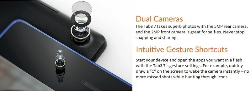 Lenovo Tab 3 7 Inch Camera Specifications