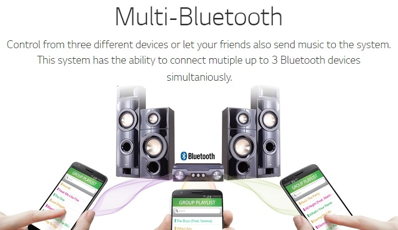 bluetooth home theatre