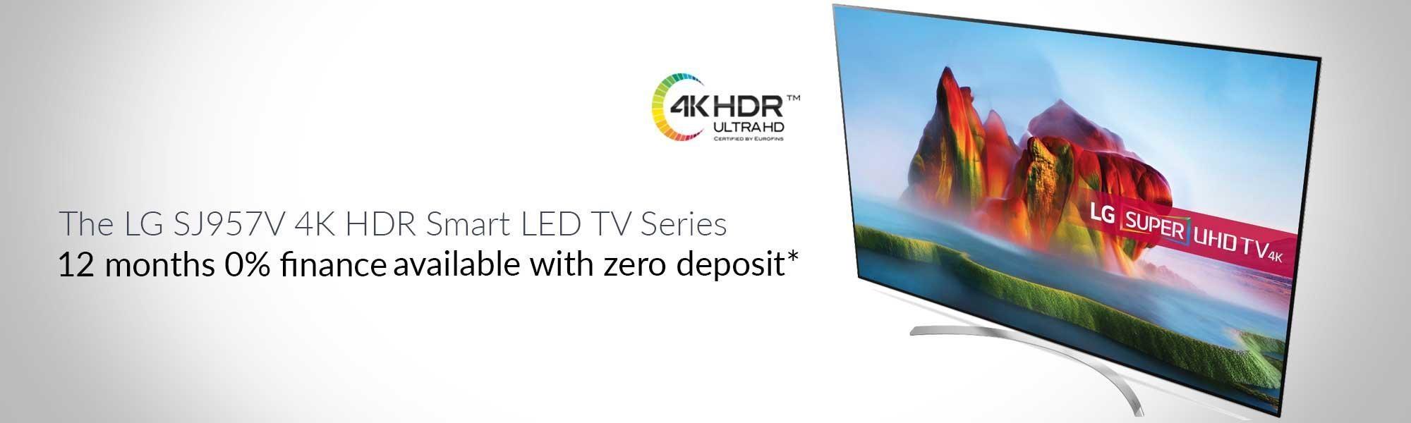 """LG 86SJ957V 86"""" SUPER UHD HDR 4K TV"""