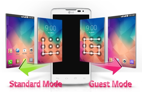 05 lg mobile L60 dual feature guest Mode