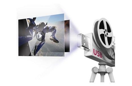 LG Sound Tower usb movie playback
