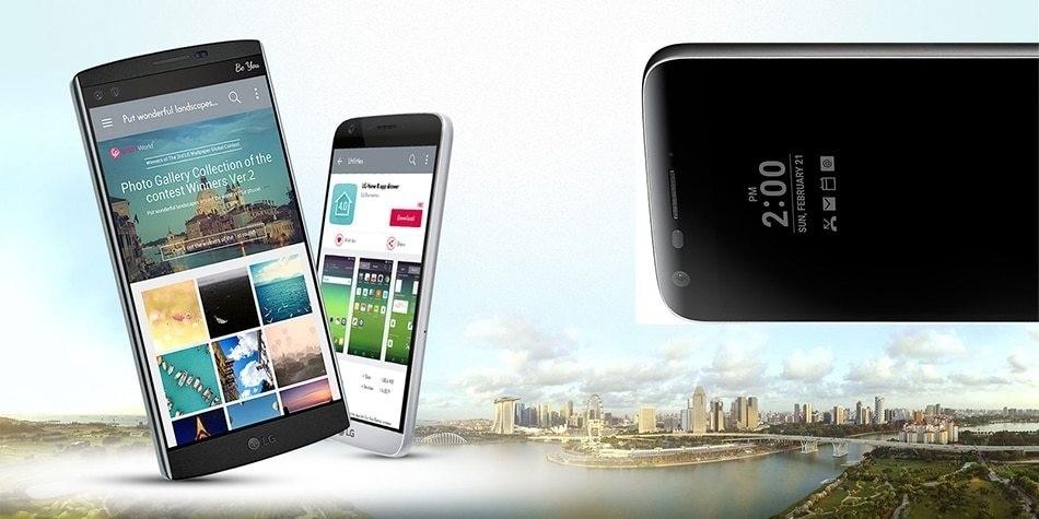 Refurbished LG G5 4GB RAM 32GB ROM  5.3inch 4G LTE Mobile Phones 16MP Camera Smartphones white 8