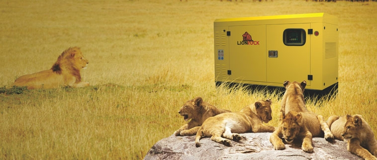 LionRock 16.5 KVA Soundproof Diesel Generator LRL16.5   Yellow price in nigeria