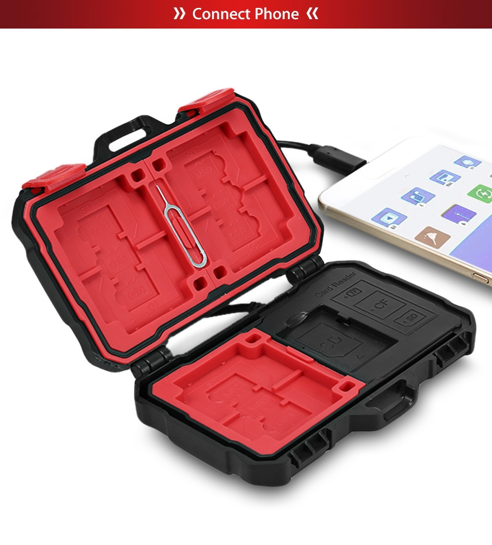 LYNCA Multifunction USB3.0 5Gbps Card Reader Case