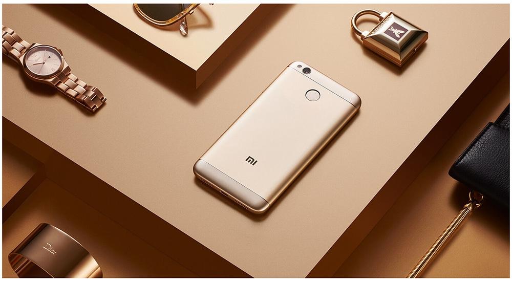 Xiaomi Redmi 4X 4G Smartphone 5.0 inch MIUI 8 Snapdragon 435 Octa Core 1.4GHz 13.0MP Rear Camera Fingerprint Scanner 4100mAh Battery