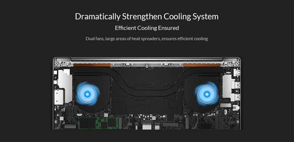 Xiaomi Mi Pro 2019 Laptop 15.6 inch Windows 10 Home Version Intel Core i7 - 8550U Quad Core 1.8GHz CPU 16GB RAM 512GB SSD 1.0MP Front Camera Fingerprint Sensor