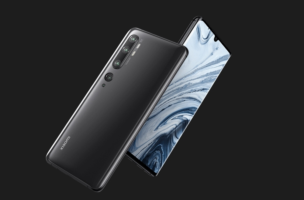 Xiaomi Mi Note 10 6.47 Inch 4G LTE Smartphone Snapdragon 730 6GB 128GB 108.0MP + 12.0M + 20.0MP + 5.0MP + 2.0MP Penta Rear Cameras NFC Fingerprint ID Dual SIM MIUI 11 Global Version - Grey