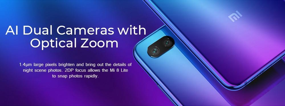 Xiaomi Mi 8 Lite 4G Phablet 6.26 inch Octa Core 4GB RAM 64GB ROM