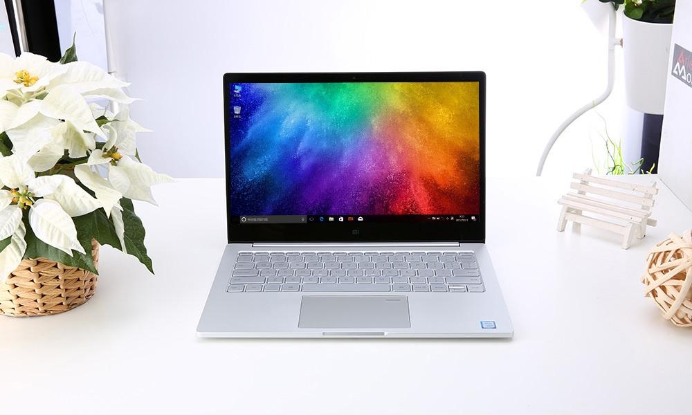 Xiaomi Notebook Air 13.3 Windows 10 Chinese Version Intel Core i5-7200U Dual Core 2.5GHz 8GB RAM 256GB SSD Fingerprint Sensor Dual WiFi Type-C