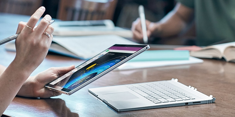 Microsoft Surface Book with Pen and touch