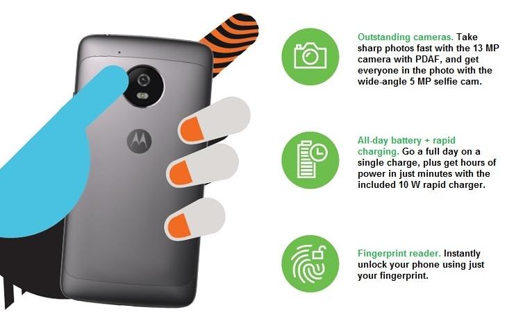 Motorola G5 at best price in Nigeria