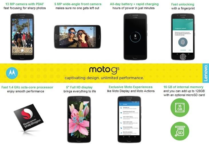 Motorola G5 on Jumia at best price