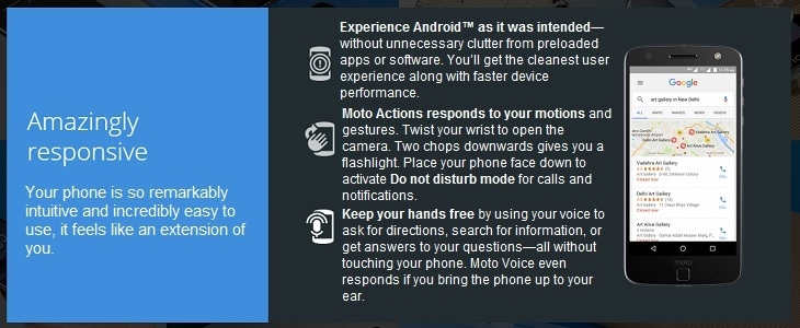 Moto Z on Jumia Android 7.0 Nougat