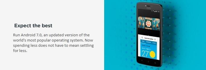 Motorola Moto C Affordable Android 7.0 phones in Nigeria