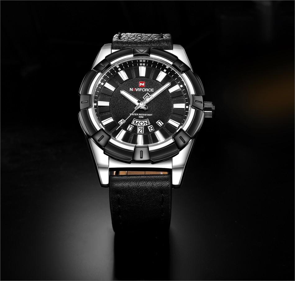 a0952ac746d8 Naviforce Men S WATCH Sport Watch Fashion Mens Watches Top Brand Luxury  Date Waterproof Quartz Wristwatch