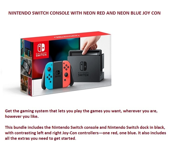 Switch Console at best price
