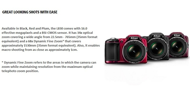 Nikon L830 2
