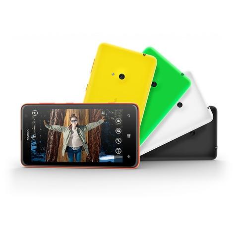 Nokia Lumia 625 colours
