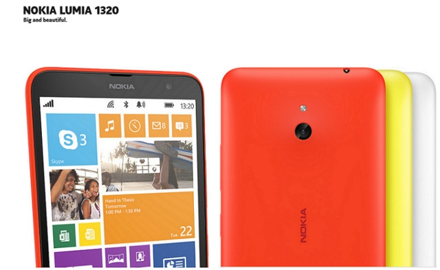 Microsoft Lumia 1320 - Black