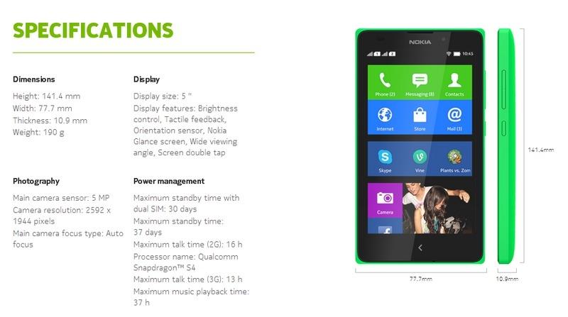 buy nokia xl dual sim phone at jumia