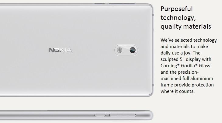 Nokia 3 5-inch IPS