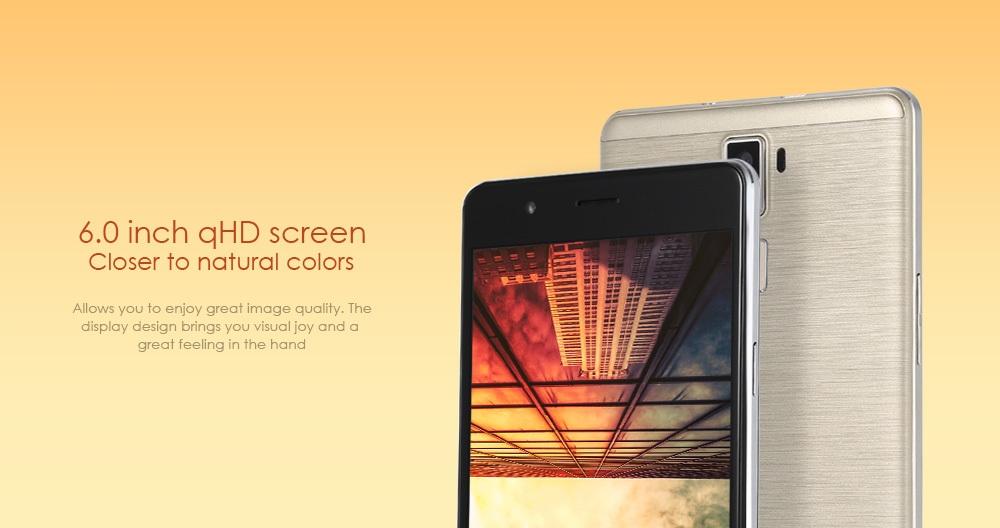 Oeina R8S Android 5.1 6.0 inch 3G Phablet MTK6580 Quad Core 1.3GHz 1GB RAM 8GB ROM Gravity Sensor GPS Bluetooth 4.0