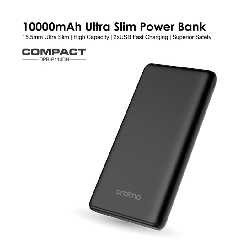 oraimo compact power bank