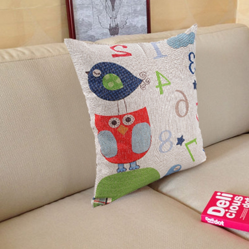 Throw Pillows With Numbers : Ovonni 18 inch Square Cute Numbers Throw Pillow Buy online Jumia Nigeria