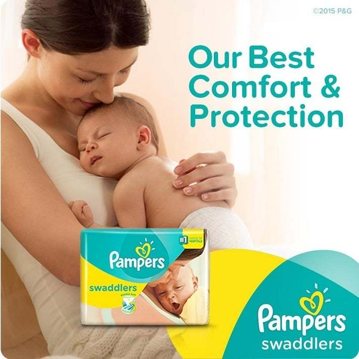 Pampers Swaddlers available on Jumia