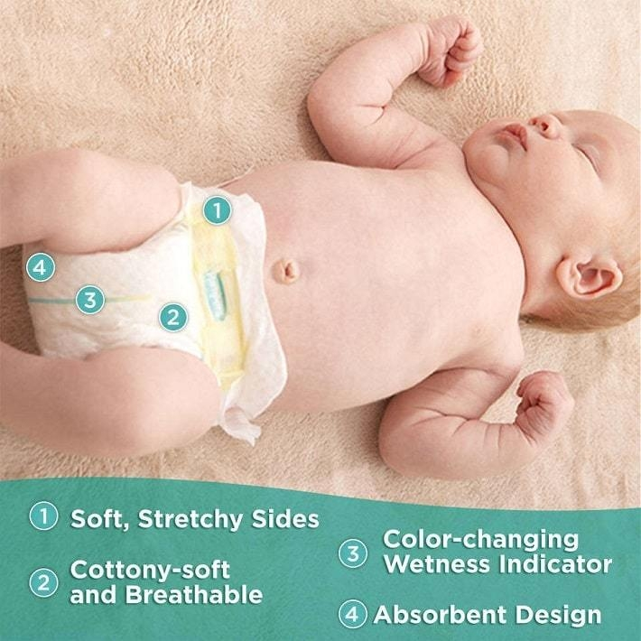Pampers Swaddlers on Jumia