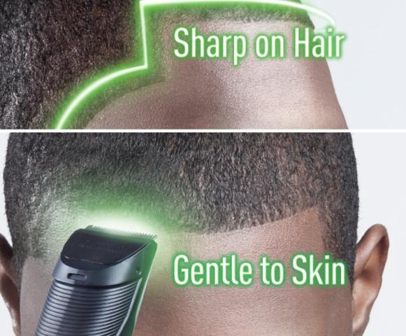 Panasonic GC30 Sharp on hair