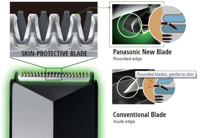 Panasonic GC30 Rounded Blades